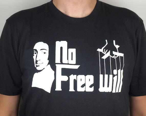Spinoza T-shirt printed on organic cotton