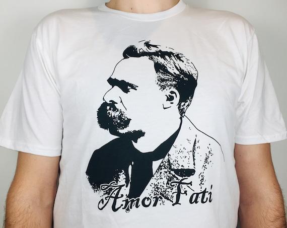 "Nietzsche ""amor fati""  T-shirt (organic cotton)"