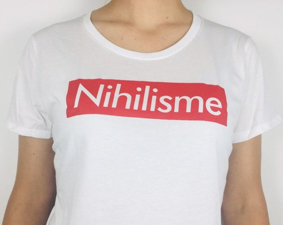 nihilism T-shirt (organic cotton)