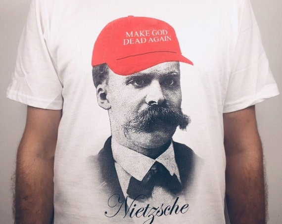 Nietzsche T-shirt: Make god dead again (organic cotton)
