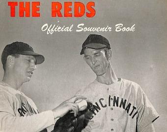 1947 CINCINNATI REDS print - Vintage Baseball Poster