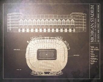 Michigan stadium etsy malvernweather Gallery