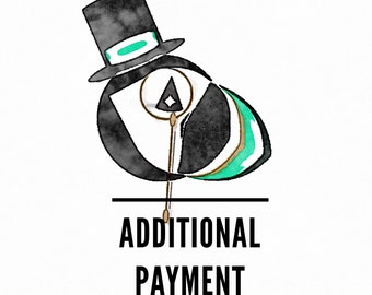 Promotions : Additional Payment to Your Pocket Square Purchase