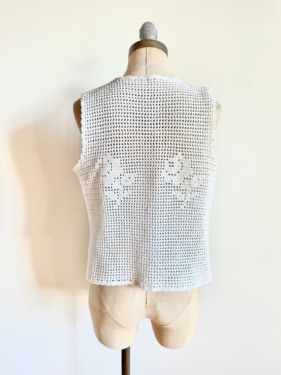 Vintage vest - Vintage crochet - vintage crochet … - image 5
