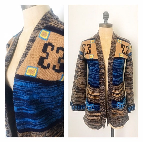 1970s Vintage Sweater - 70s Vintage Sweater - Vint