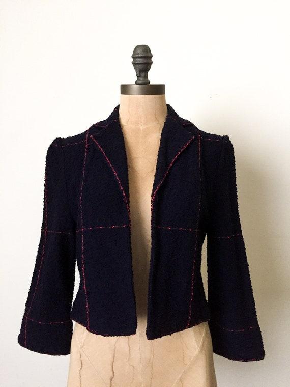 vintage crop jacket - vintage cropped jacket - vi… - image 2