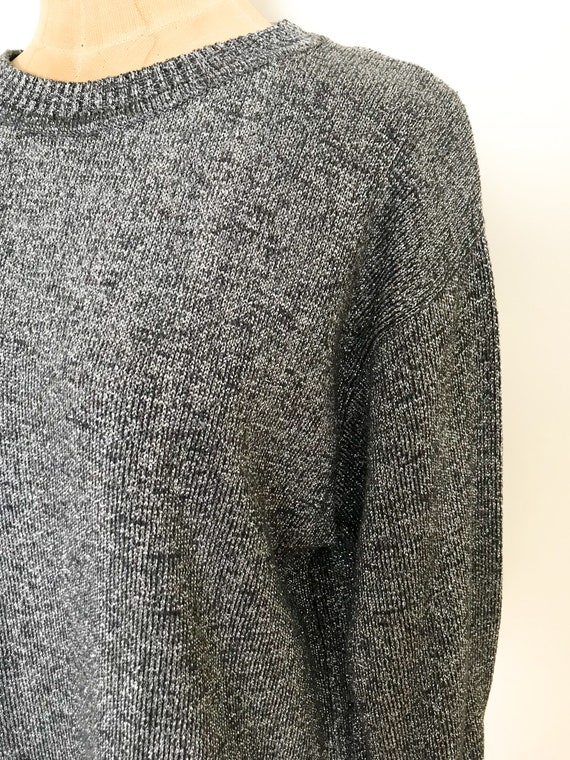 Vintage sparkle sweater - Vintage I. Magnin sweat… - image 6