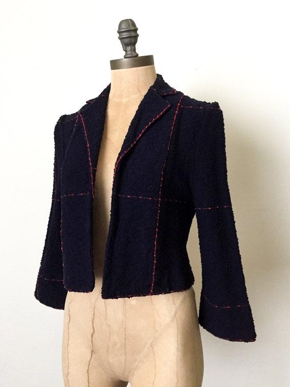 vintage crop jacket - vintage cropped jacket - vi… - image 3