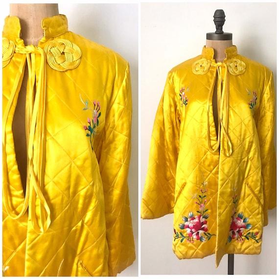 Vintage souvenir jacket - vintage Chinese robe - v