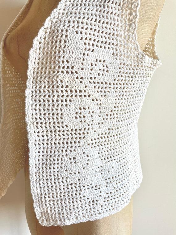 Vintage vest - Vintage crochet - vintage crochet … - image 4