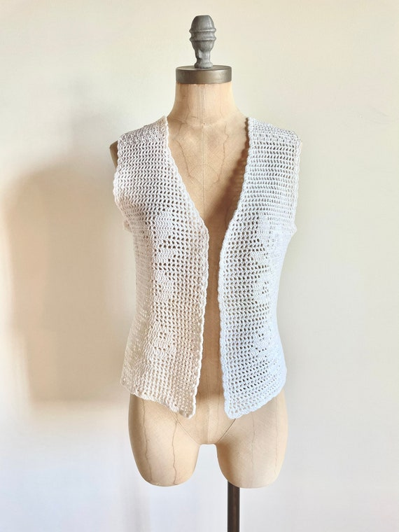 Vintage vest - Vintage crochet - vintage crochet … - image 6