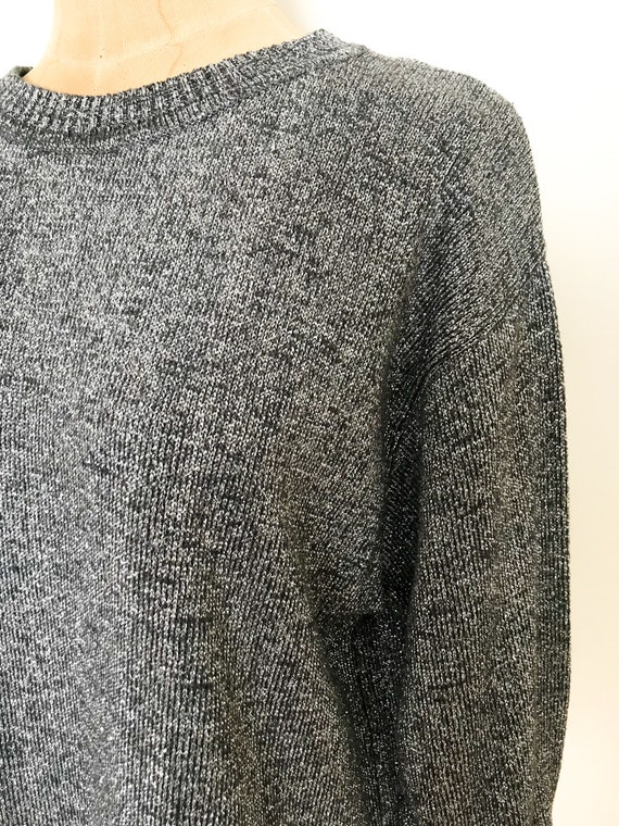 Vintage sparkle sweater - Vintage I. Magnin sweat… - image 10