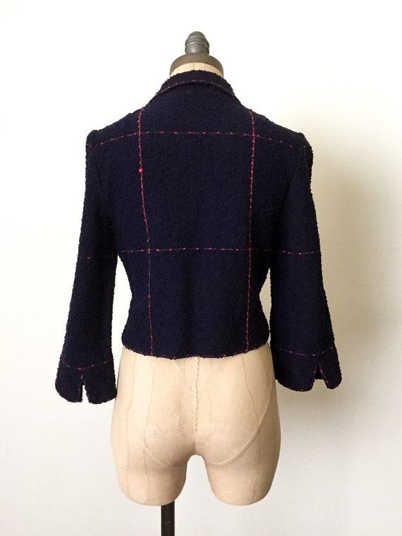 vintage crop jacket - vintage cropped jacket - vi… - image 4