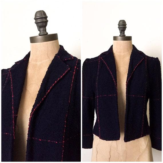 vintage crop jacket - vintage cropped jacket - vin