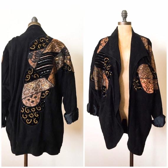 Vintage Judith Ann - vintage patchwork coat - vint
