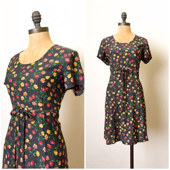 Vintage 90s dress - 90s babydoll dress - 90s dress