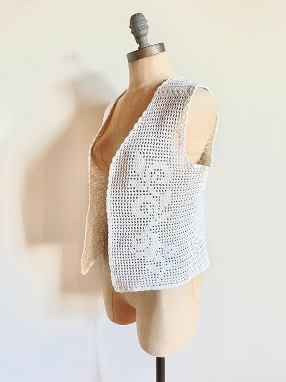 Vintage vest - Vintage crochet - vintage crochet … - image 3