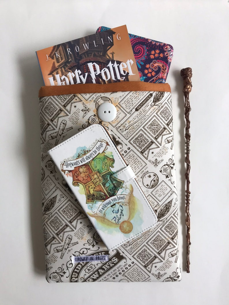 Harry Potter Quidditch Book Sleeve Book Cover Tablet