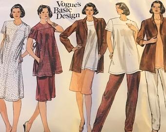 Vintage Vogue Basic Design Sewing Pattern 2865/FF/UNCUT/Size 14