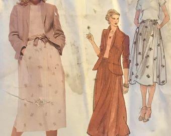 Vogue American Designer/Calvin Klein/Sewing Pattern 1884/FF/UNCUT/Size 14