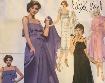 Vogue American Designer Pattern 1896/Edith Head/FF/UNCUT/Size14
