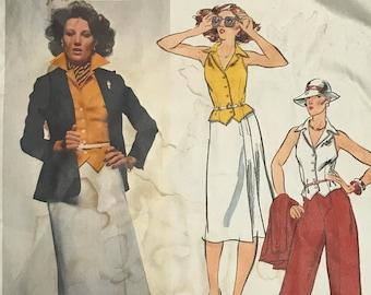 Vogue American Designer/Anne Klein/ Sewing Pattern 1479/FF/UNCUT/Size 14