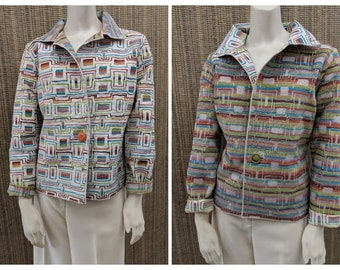 From Our Creative Genius, Claire- Reversible Jackets-TWO different looks in one jacket!
