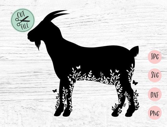 Download Goat Svg, Goat Clipart, Svg Files for Cricut, Farm Svg ...