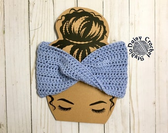 Adult Winter Headband   Women's Ear Warmer Headband   Twist Headband   Wool Headband   Women's Head Wrap  Winter Head Wrap