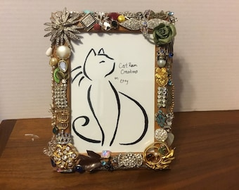 Jeweled frame