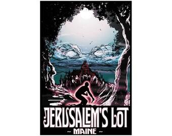 """Jerusalem's Lot 13"""" x 19"""" Travel Poster - Salem's Lot"""