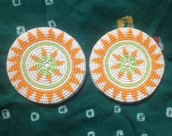 Beaded circles