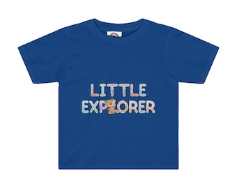 Little Explorer Kids Tee