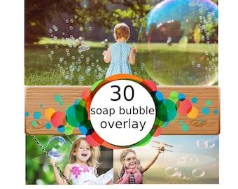30 Bubbles Photoshop Overlays: Realistic Soap air bubbles Photo effect, Outdoor photo Sessions, Photoshop Overlay, Photo Overlays, png