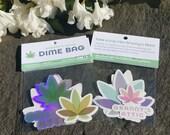 Granny's Attic Dime Bag Cannabis Sticker Pack