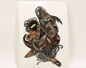 Biomechanical Heart *Sticker