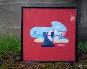 Lifeguard *Framed Print