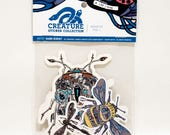 Creature Collection Insects Vol. 1 *Sticker Pack