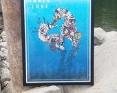 Inner Love Seahorses *Framed Print