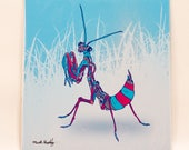 Winter Mantis *Print