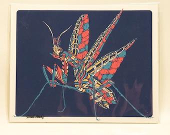 Flying Mantis *Print