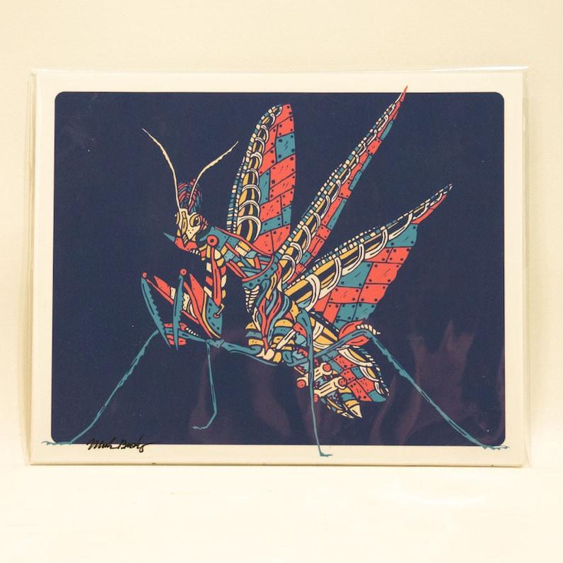 Flying Mantis Print image 0