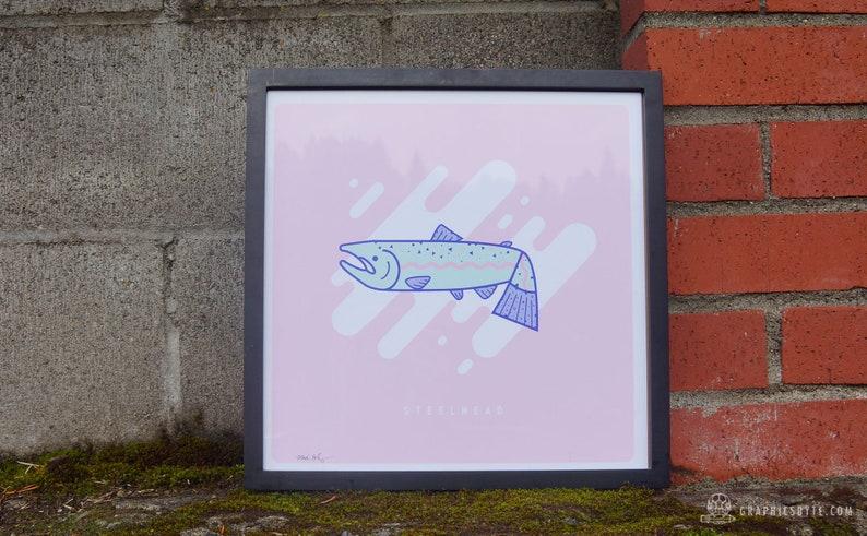 Steelhead Framed Print image 0