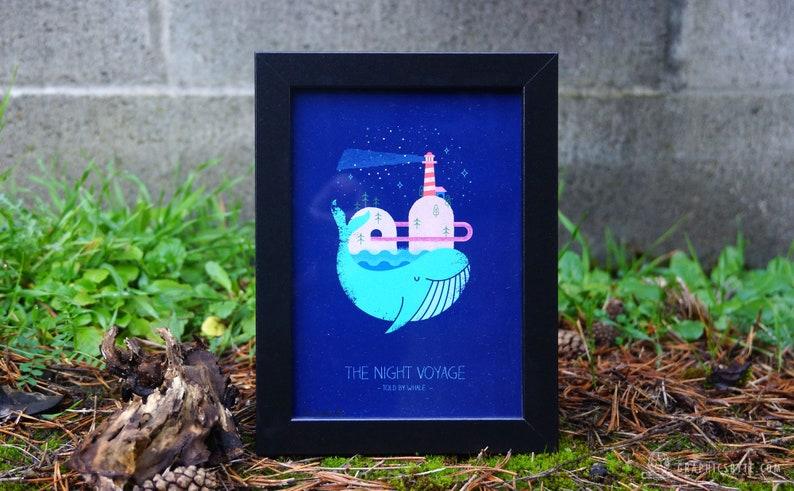 The Night Voyage Framed Print image 0