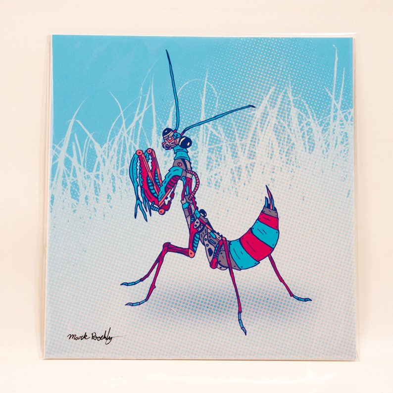 Winter Mantis Print image 0