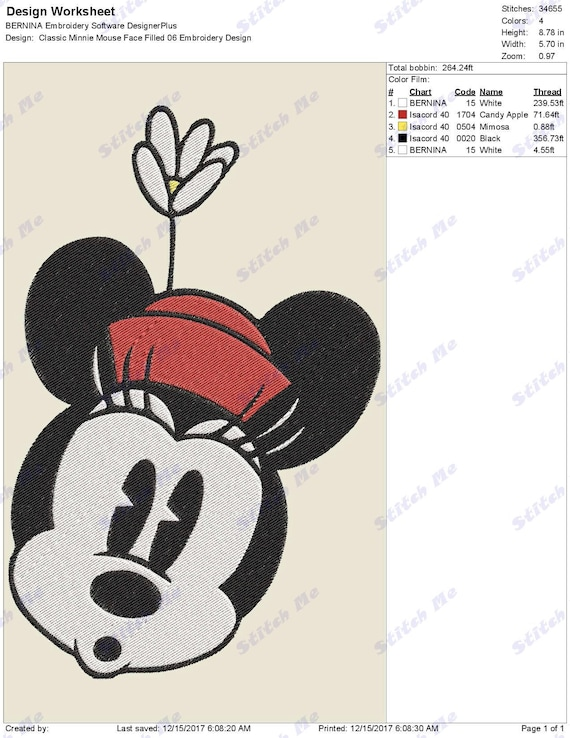 Details about  /Personalized Elf Minnie Mousehead Machine Embroidered Unisex Adult Shirt V2