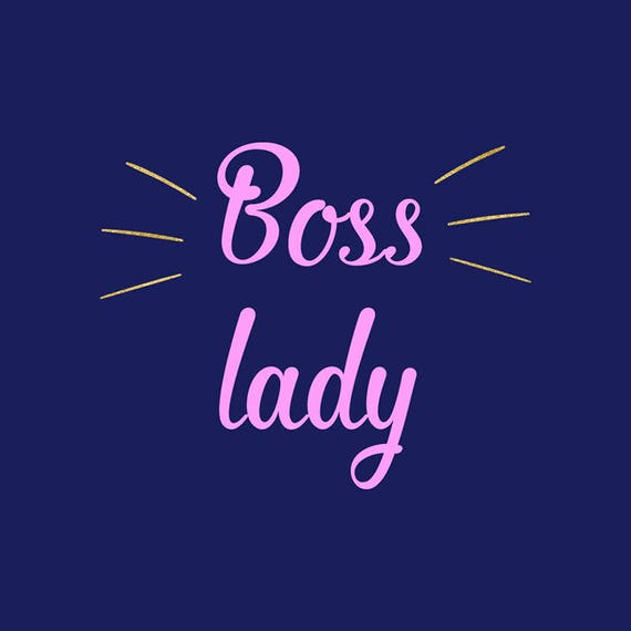 Boss Lady Svg Girl Boss Svg Clipart Cutting Files Silhouette Cricut Explore Graphic Overlays Work Clipart Vector File Nw1997