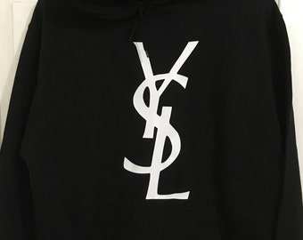 Youth YSL Hooded Pull Over Hoodie Sweat Shirt