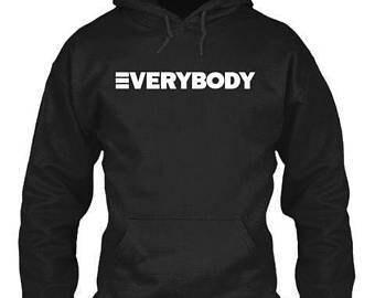 """Youth """"EVERYBODY"""" Hoodie Hooded Sweatshirt"""