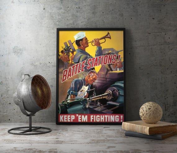 Us Propaganda Printable Poster Print Posters Online Etsy